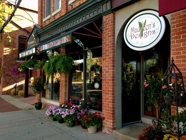 Maureen's Designs, a quaint, family-owned flower boutique in Downtown Saline