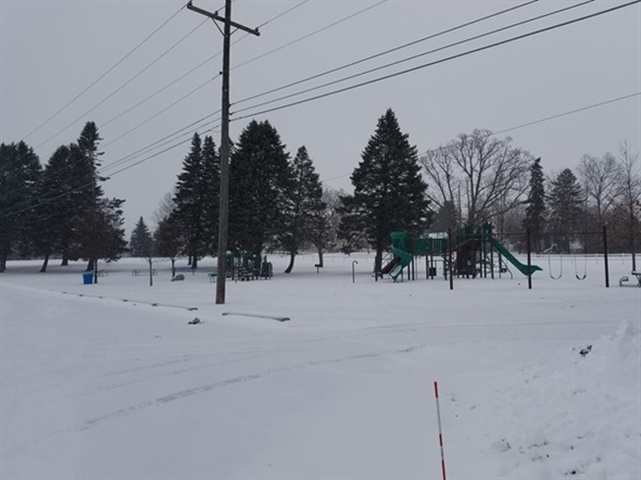 "Time to play in the snow. Cross Country ski at Fowlerville's ""Big Park"""