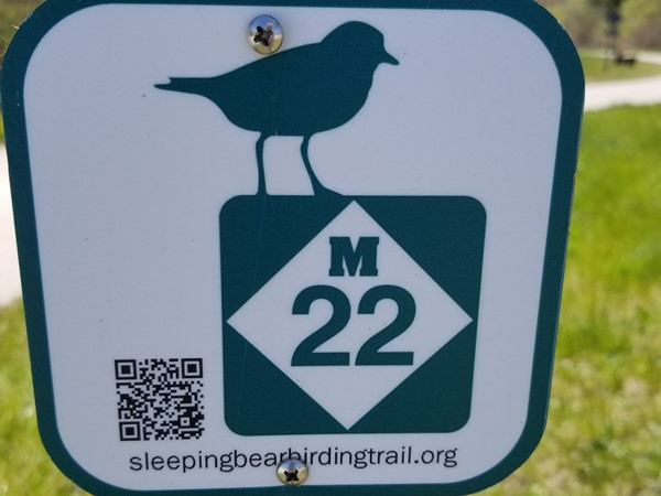 Official M-22 Sleeping Bear Birding Trail, Betsie Valley Trail