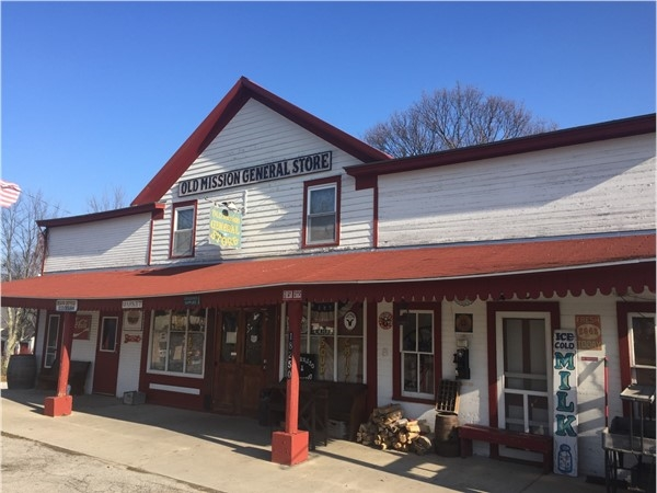 Old Mission General Store has everything you might need as well as loads of history