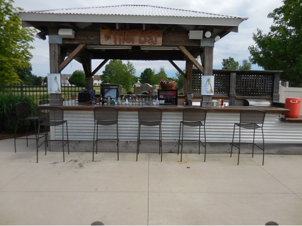 Located in the pool area, the Tiki Bar has any type of beverage you would like