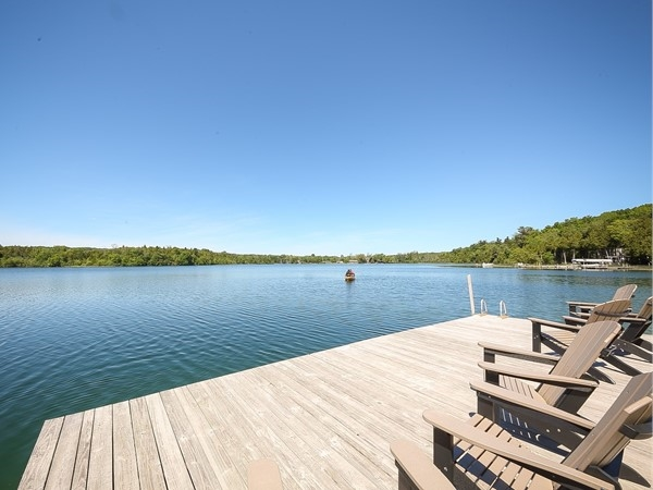 Gorgeous shot from shared access on Cedar Lake