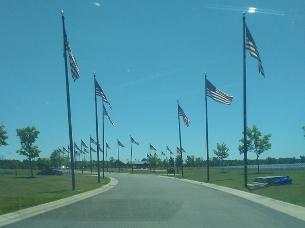 Great Lakes National Cemetery in Holly Michigan
