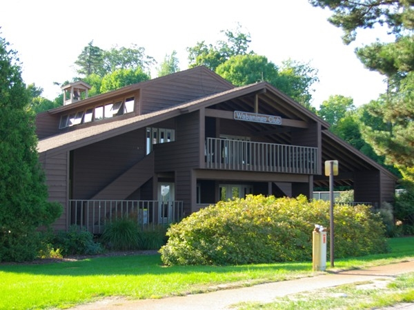 The Wabaningo Club clubhouse in historic Sylvan Beach