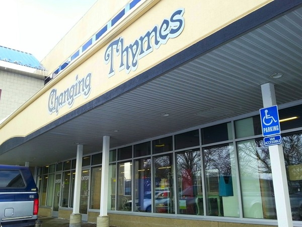 Changing Thymes offers antiques, furniture, collectibles and more