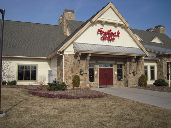 FireRock Grille is a popular restaurant for dining. Try their burgers, pasta or seafood specialties