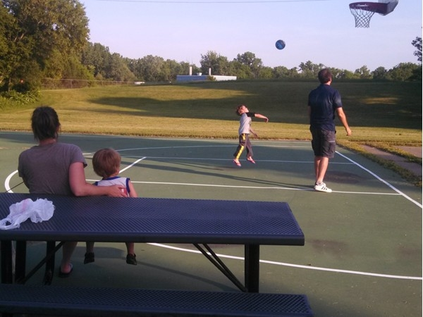 The parks in Saline are wonderful places to spend with the family