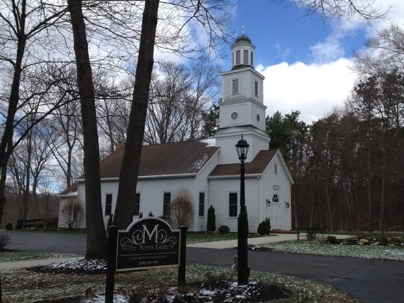 Love taking a drive through The Morris Estate in Niles MI. The Chapel is part of the 1000 acre farm.