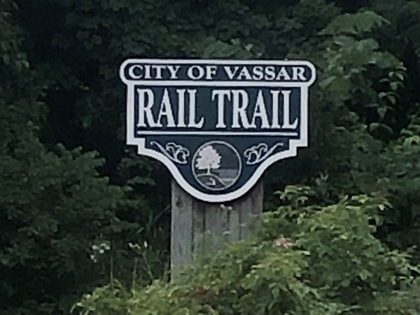 One of many rail trail entrances