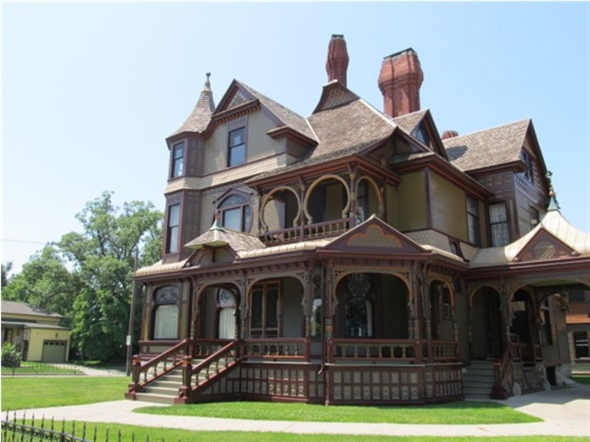 Hackley House Historical Site in downtown Muskegon