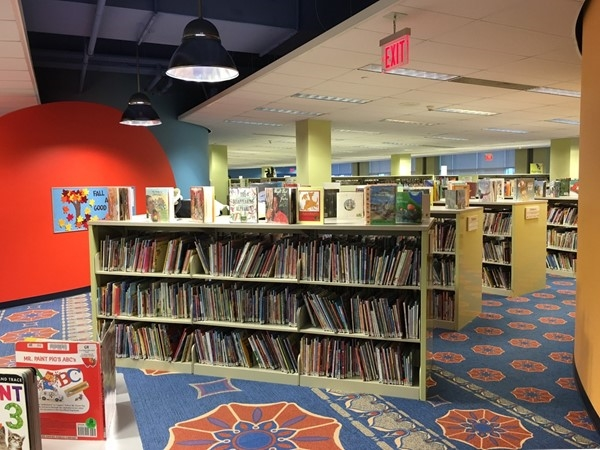 The children's section of the Downtown Grand Rapids Public Library is amazing! Full of many options