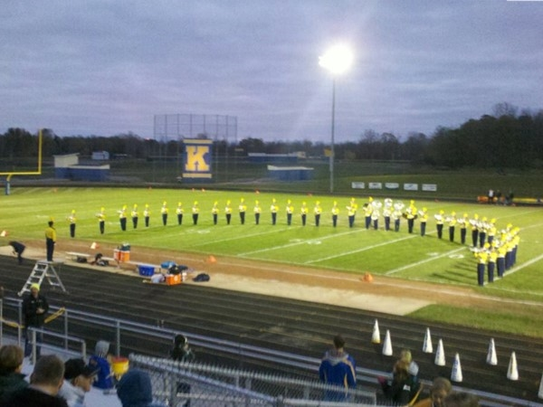Kearsley High School Marching Band of 2013