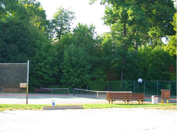 Tennis Courts in the historic Sylvan Beach area