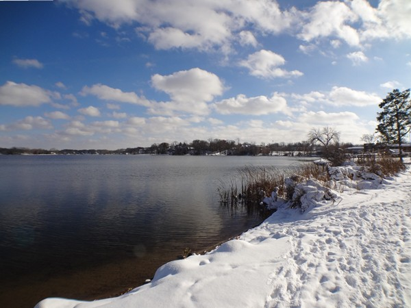Reeds Lake is a great place for a walk any time of year