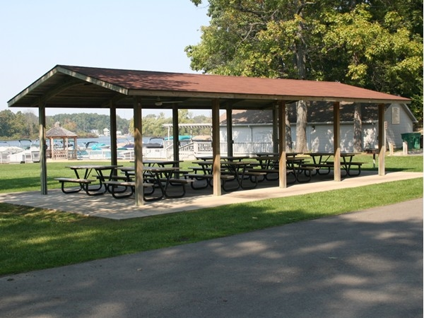 Reserve the picnic area for your private party