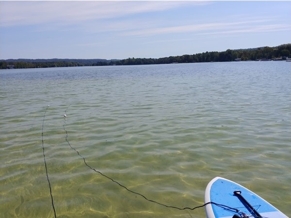 Lovin' Lake Leelanau for summer fun! Such a beautiful lake to explore