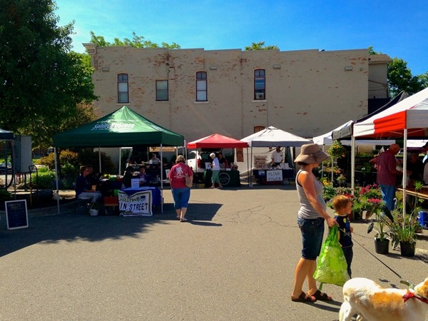 The Saline Farmer's Market - A great place to buy locally grown produce and other goods