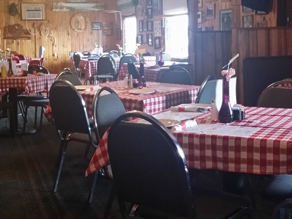 Good food and ood prices with wild game entrees at Oscar And Joey's Roadhouse