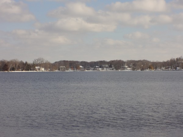 Scenic view of Reeds Lake