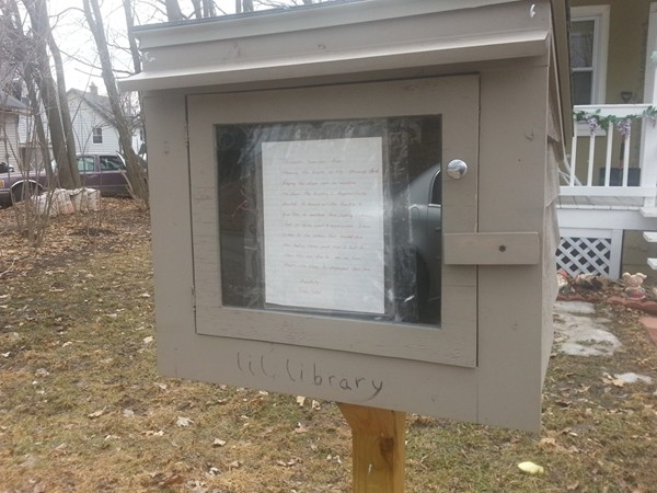Little Free Library #3 in Mott Park