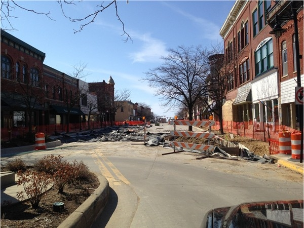 Downtown South Haven's renovations continue