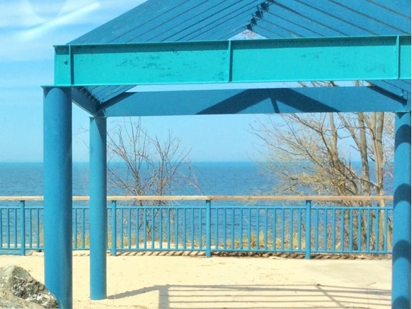 View from Rocky Gap Park in Benton Harbor Michigan