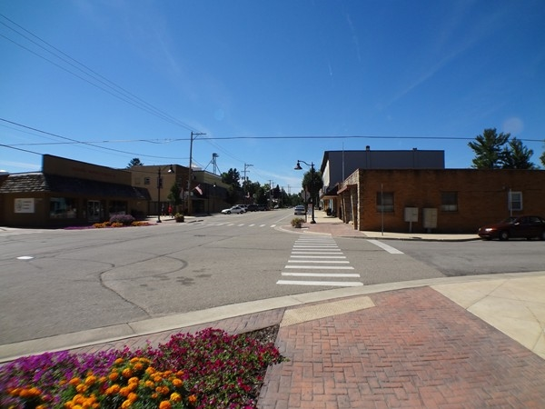 Streetview of Downtown Caledonia