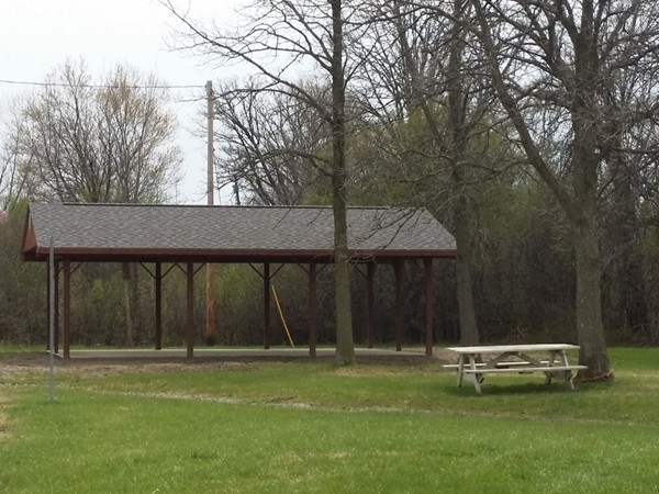 The Pavilion at Kelly Lake Park is a great place to have family picnics