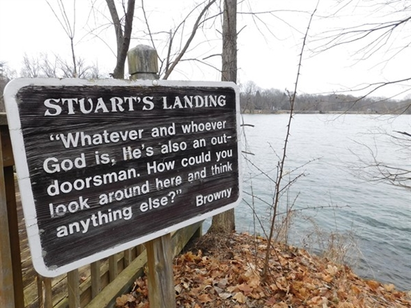 The water is waiting for you at Stuarts Landing