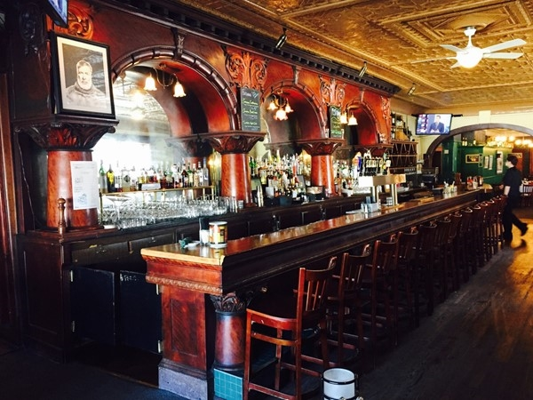 An Ernest Hemingway haunt. Original bar from the late 1800's