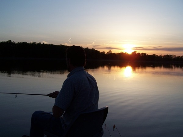 Milford Lake fishing