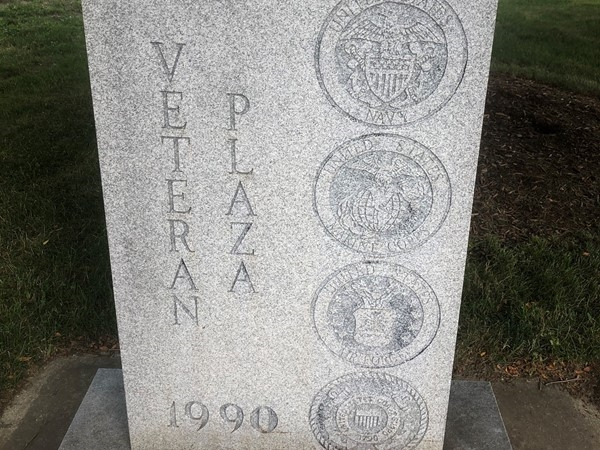 The Veteran Plaza in Vassar was established in 1990