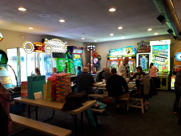 The Fenton House Arcade has been remodeled! Great place for parties