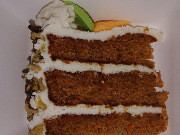 Amical on Front Street...for delicious desserts like this carrot cake
