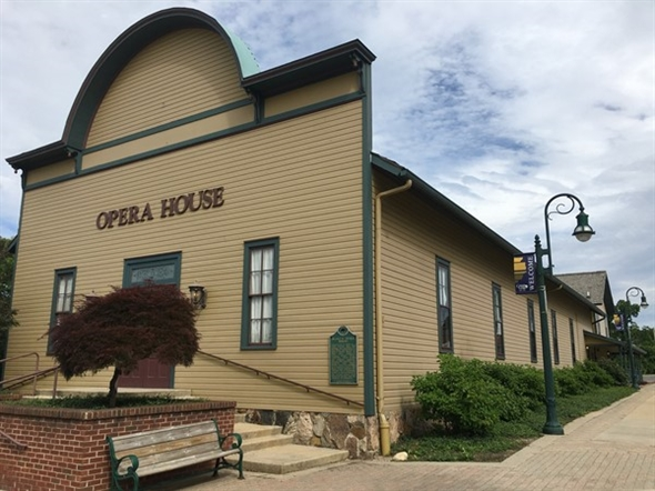 The picturesque Grand Ledge Opera House is known for its elegance, grace and beauty