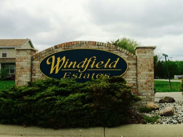 Windfield Estates entrance