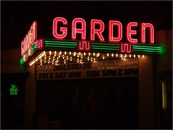 Garden Theater, downtown Frankfort
