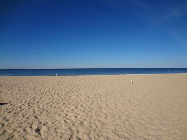 Grand Haven Beach on Lake Michigan