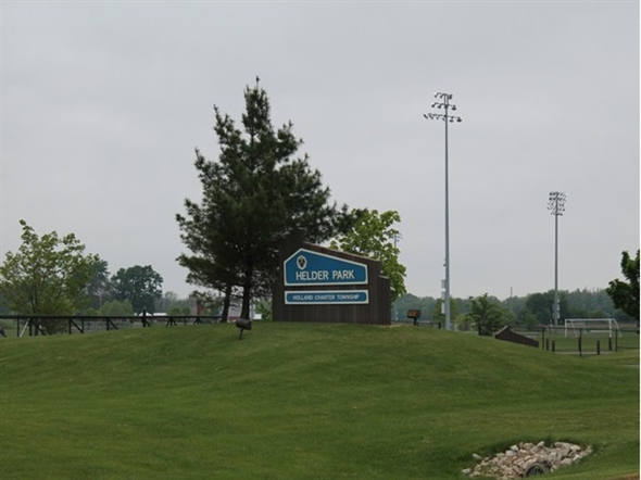 Helder Park...the neighboring community park owned by Holland Charter Township