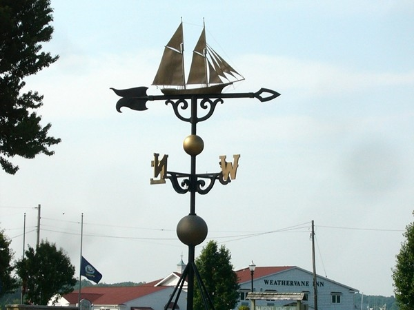 Yes, Montague is home to the world's LARGEST weathervane.
