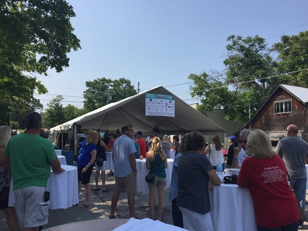 A beautiful peninsula day for the Lake Leelanau Street Fair. Great music, food, drinks, and fun