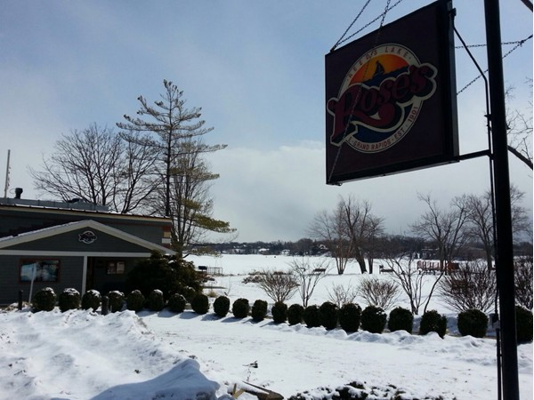 Rose's on Reeds Lake - A dining favorite!  Enjoy the history of Rose's, good food and fun vibe!