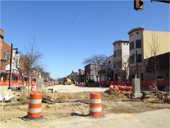 Completion of South Haven's downtown is drawing closer!!