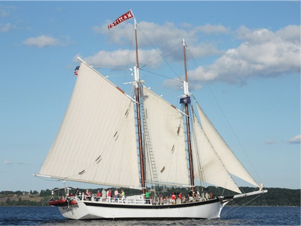 Manitou Tall Ship Tour on West Bay