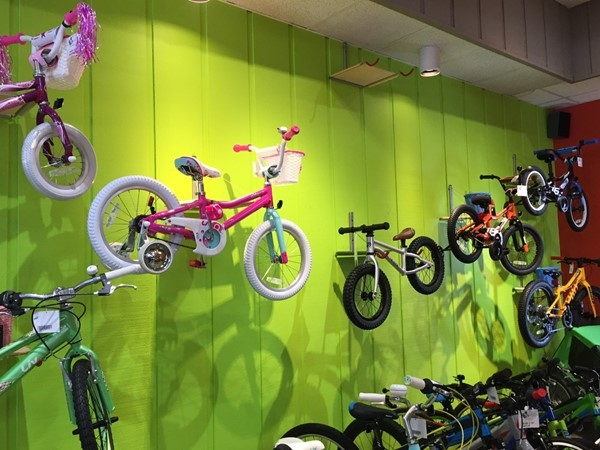 We love seeing kids on bikes! City Bike Shop has some really cool bikes for the little ones