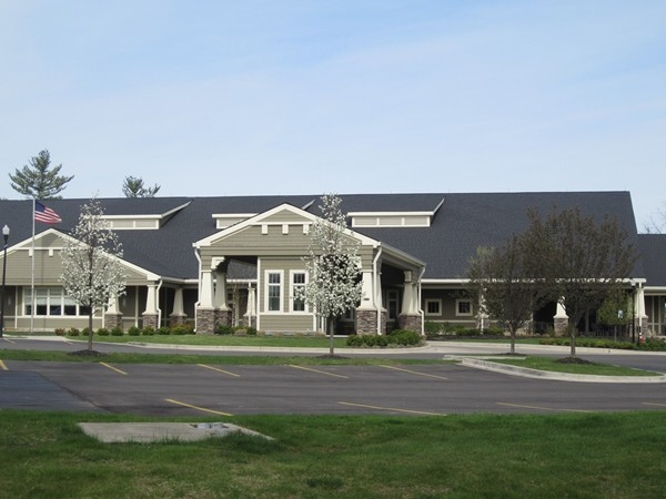 Club House at Oak Pointe Country Club in Brighton