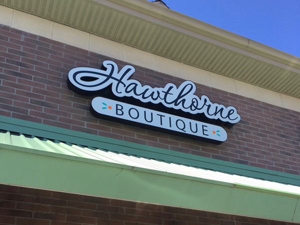 Hawthorne Collection Boutique, Bayberry Market in Wyoming. Trendy women's clothing/accessories.