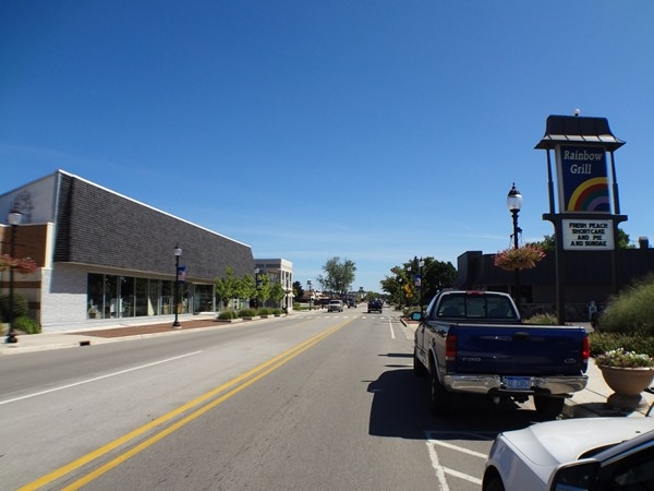Streetview of Downtown Grandville