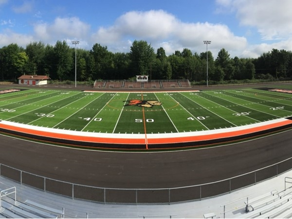 Chesaning Union Schools football field
