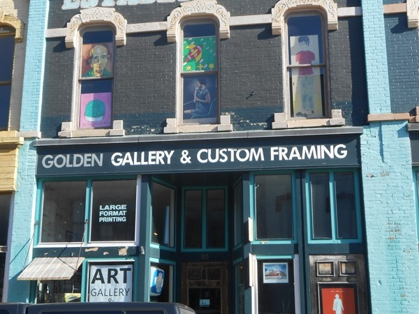 Great art and photos at Golden Gallery